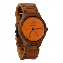 1915 WATCH LADY REAL LETHER COGNAC 38 MM.